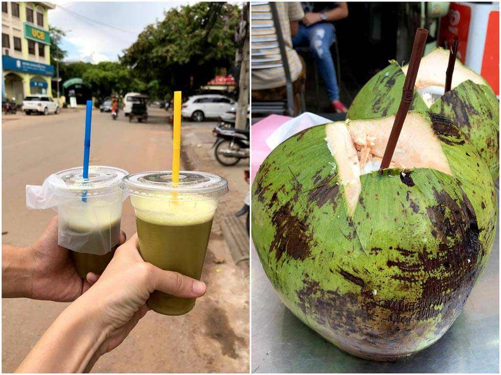 椰子汁與甘蔗汁