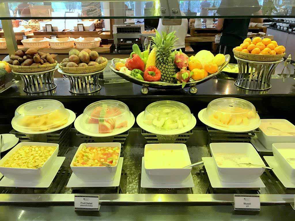 甲米蒂瓦娜廣場酒店 早餐