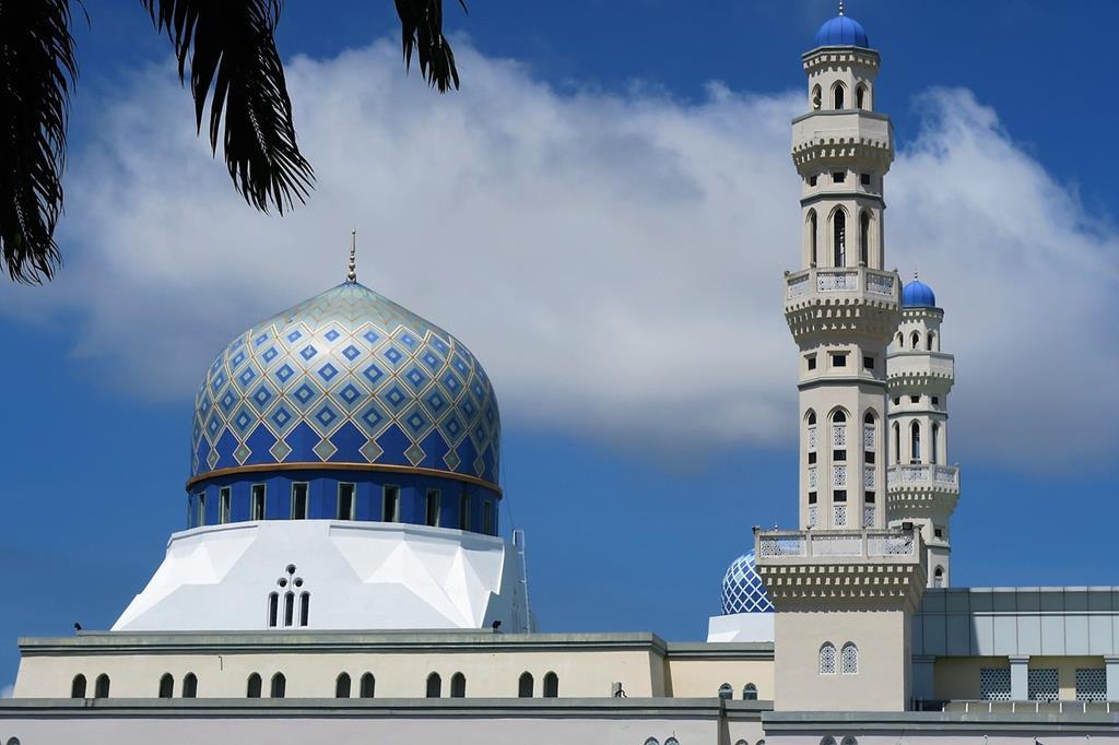 亞庇市立清真寺(水上清真寺)