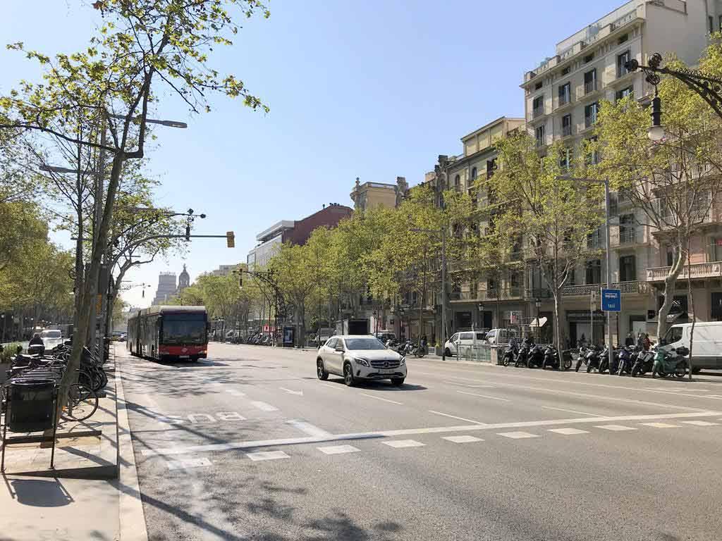 格拉西亞大道Passeig de Gràcia