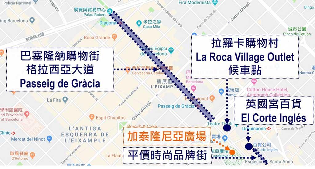 barcelona-shopping-map