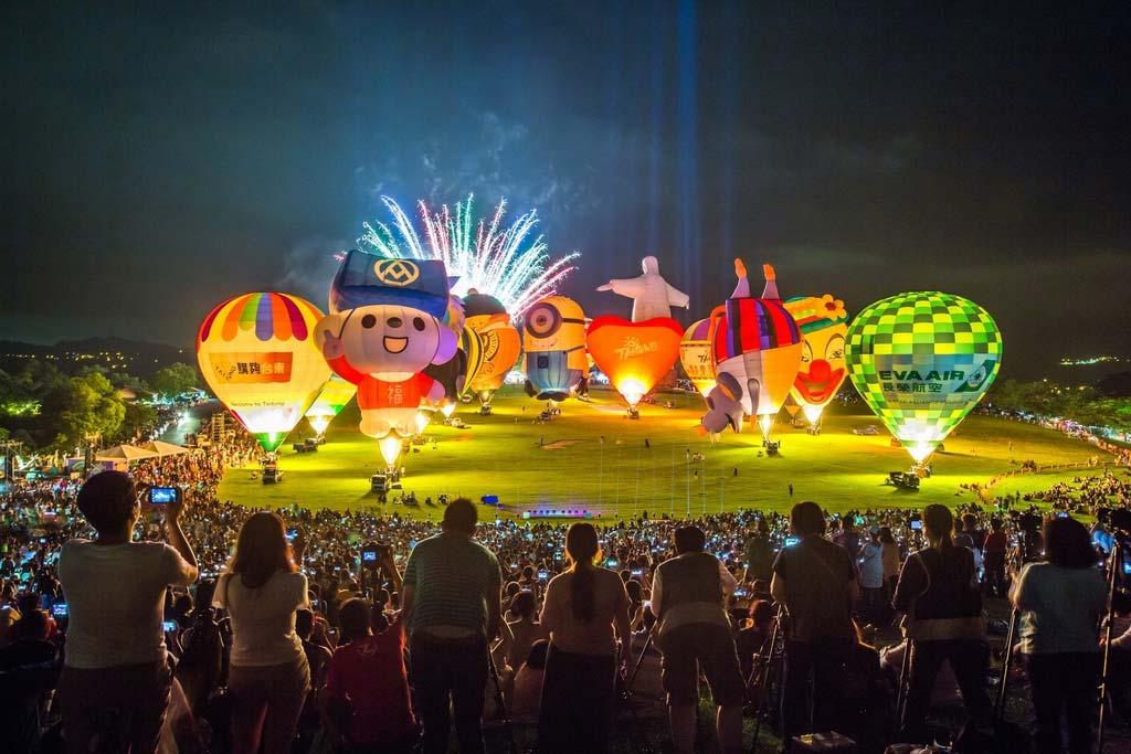 台東熱氣球光雕音樂會
