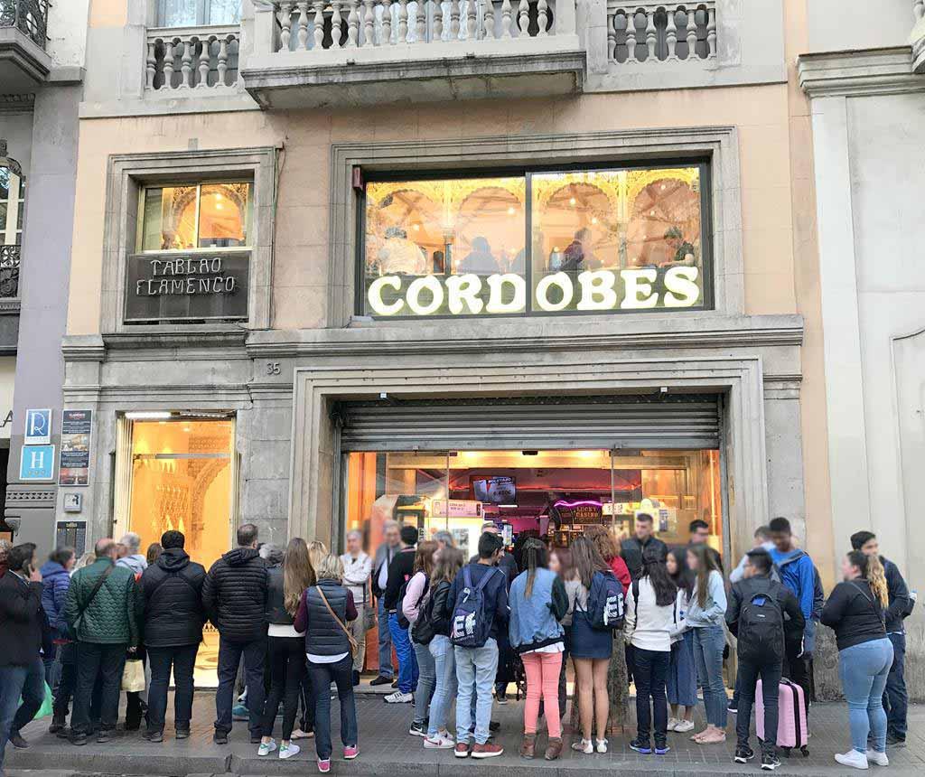 Barcelona-flamenco-Tablao-Cordobes transport