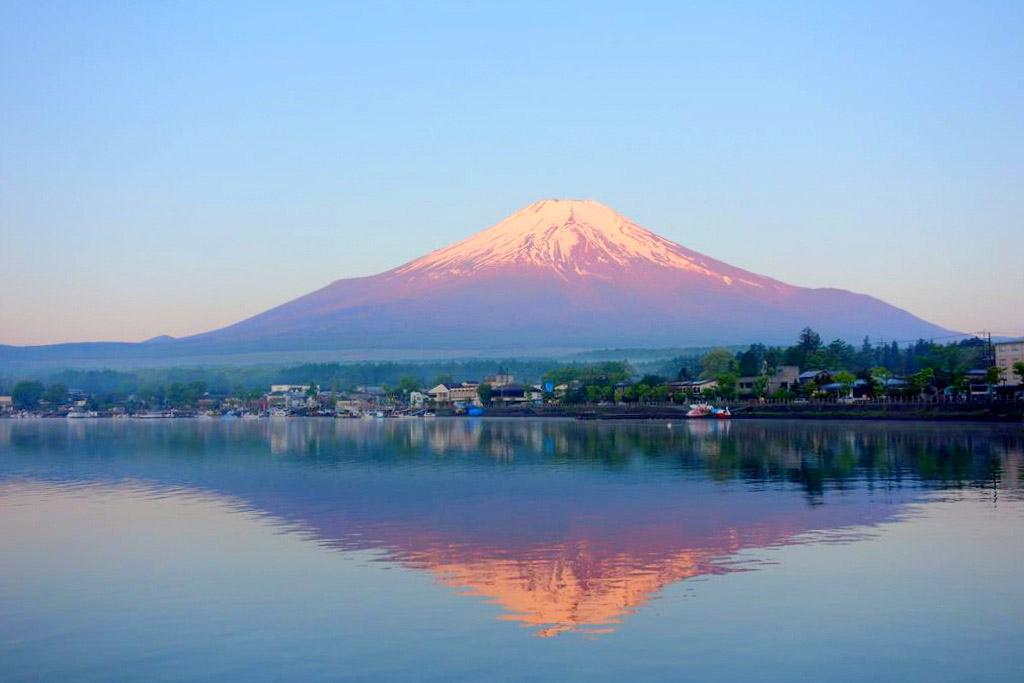 山中湖-Yamanakako