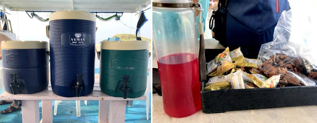 忘憂島-裝備與餐食