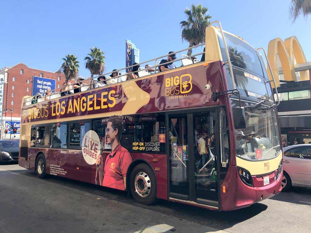 洛杉磯Big-Bus隨上隨下觀光巴士