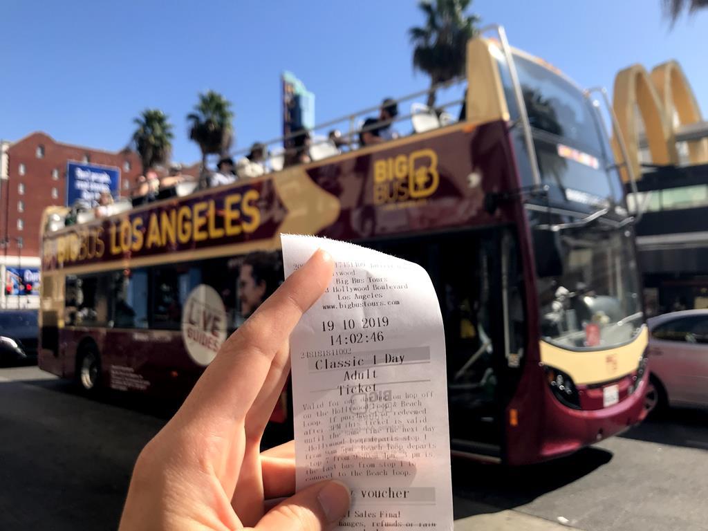 洛杉磯Big Bus隨上隨下觀光巴士