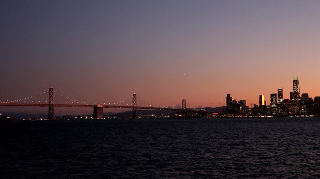 舊金山最美夜景Great Lawn