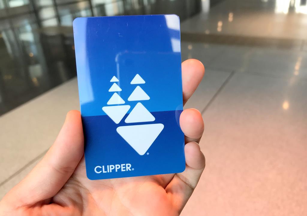 路路通卡 Clipper Card