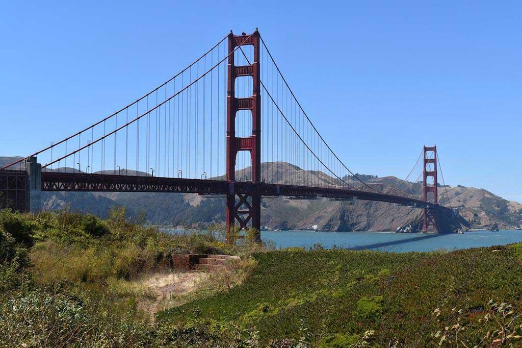 金門大橋 Golden Gate Bridge