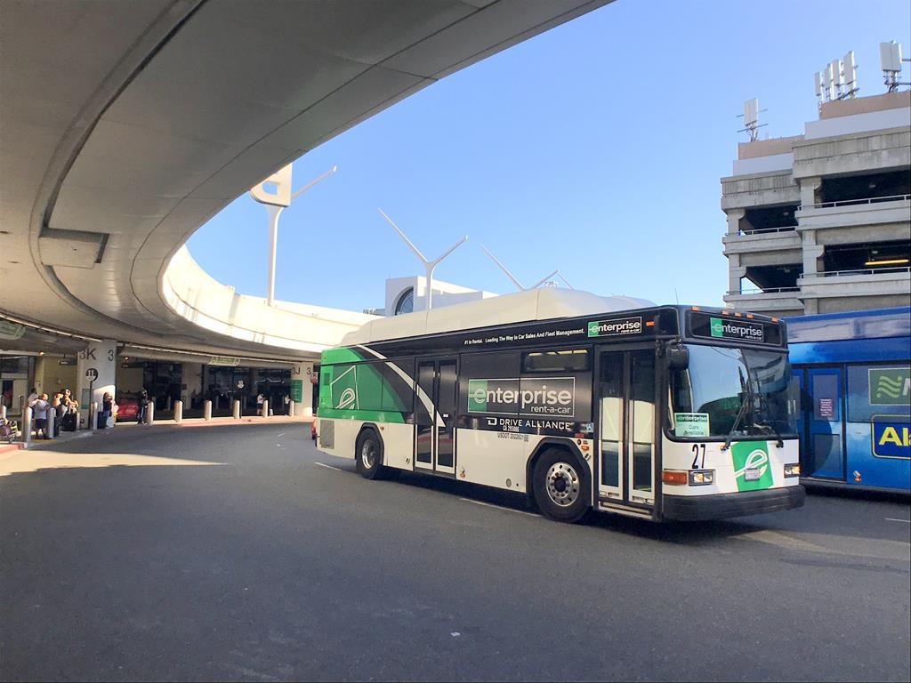LAX airport car rental shuttle bus (3)