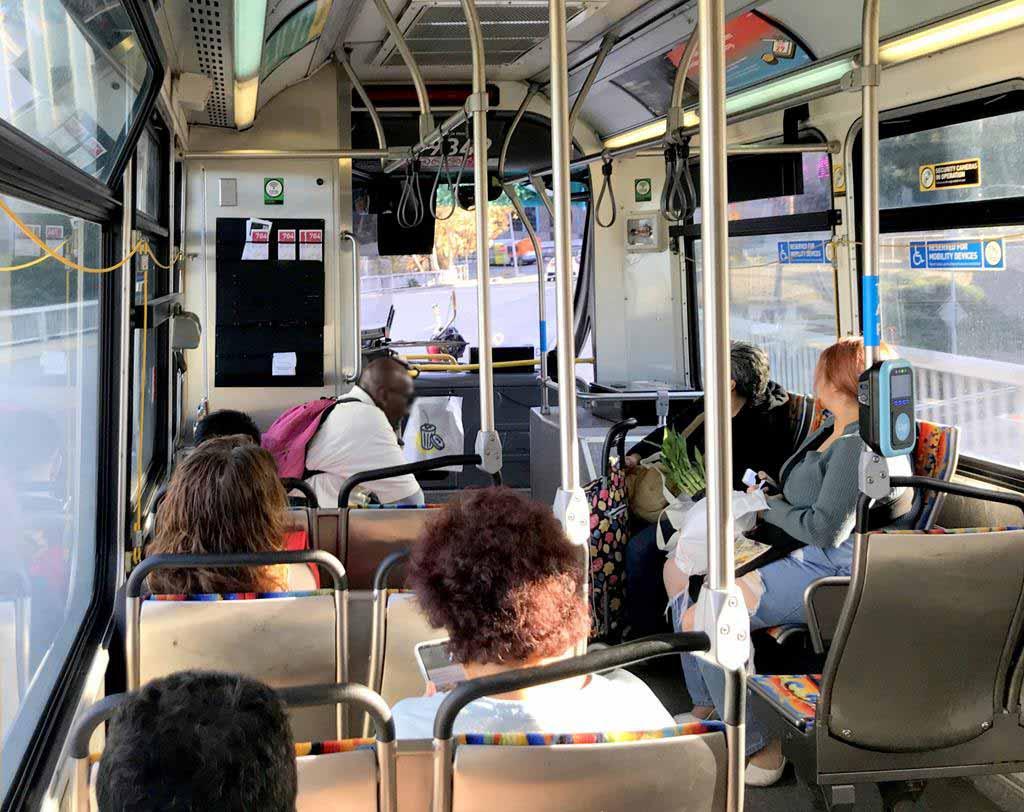 Los Angeles Metro-Bus