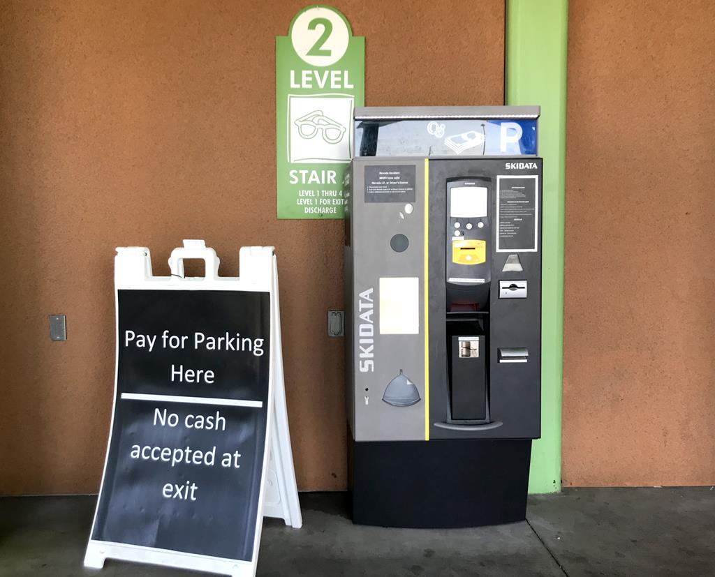 Las Vegas North Premium Outlets parking fee