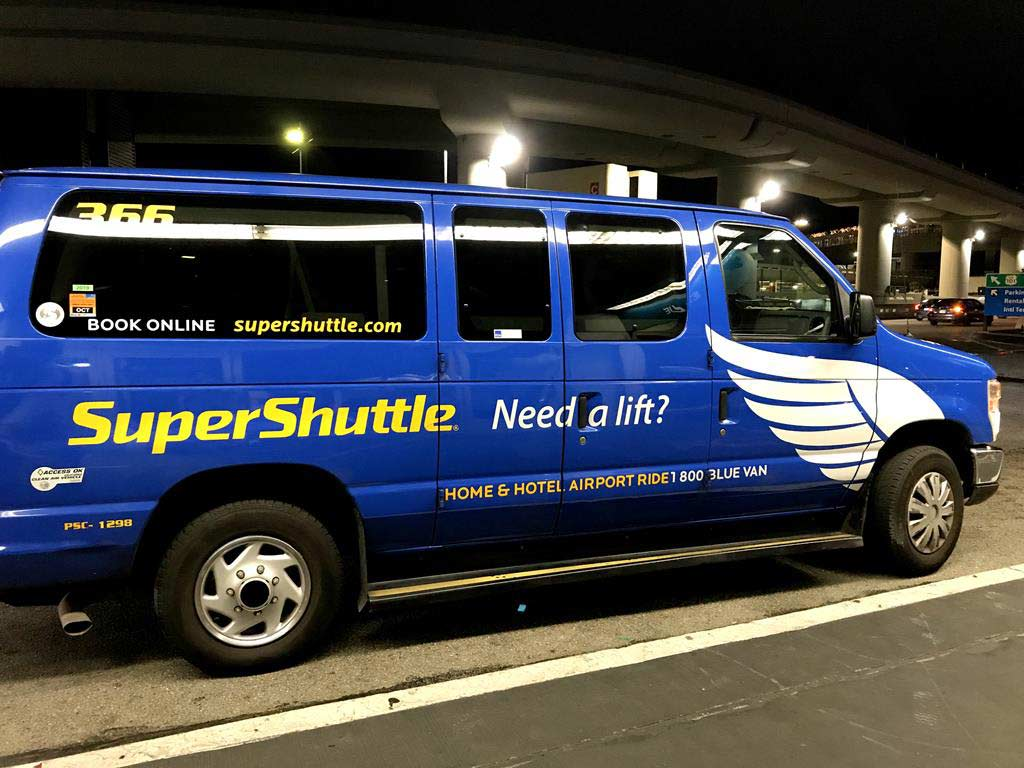 SFO-airport-share-van