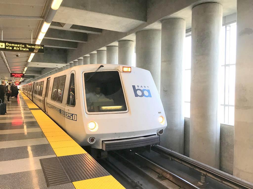 BART舊金山灣區捷運系統Bay Area Rapid Transit
