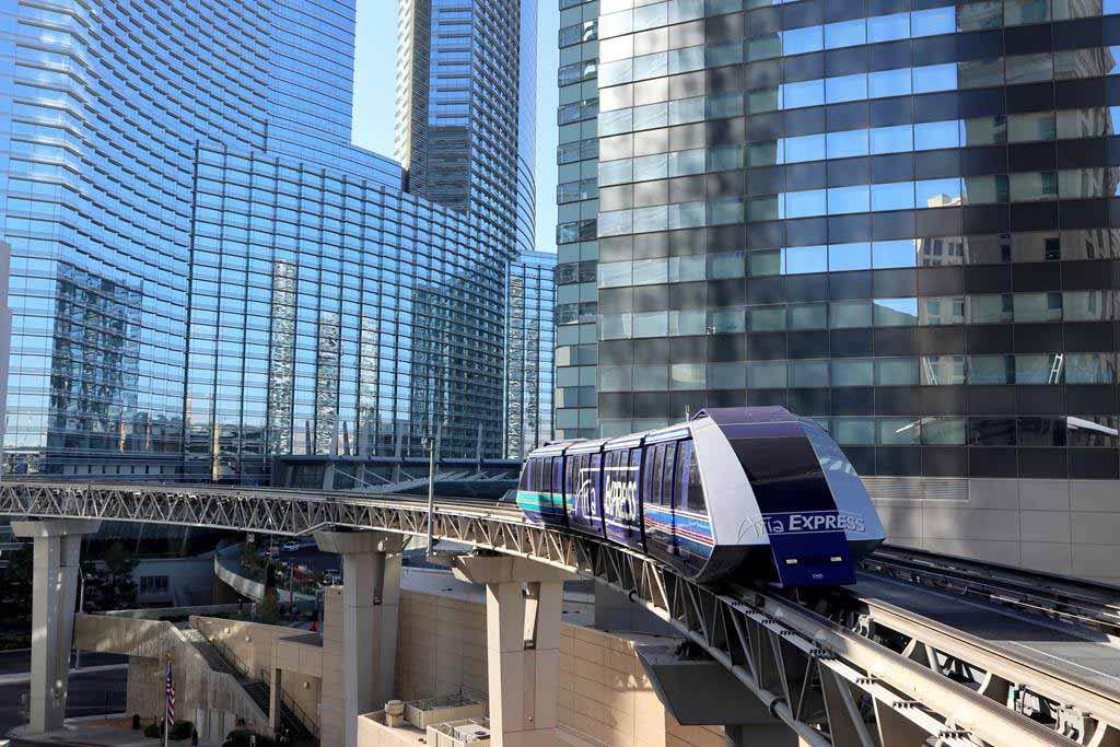 The ARIA Express Tram