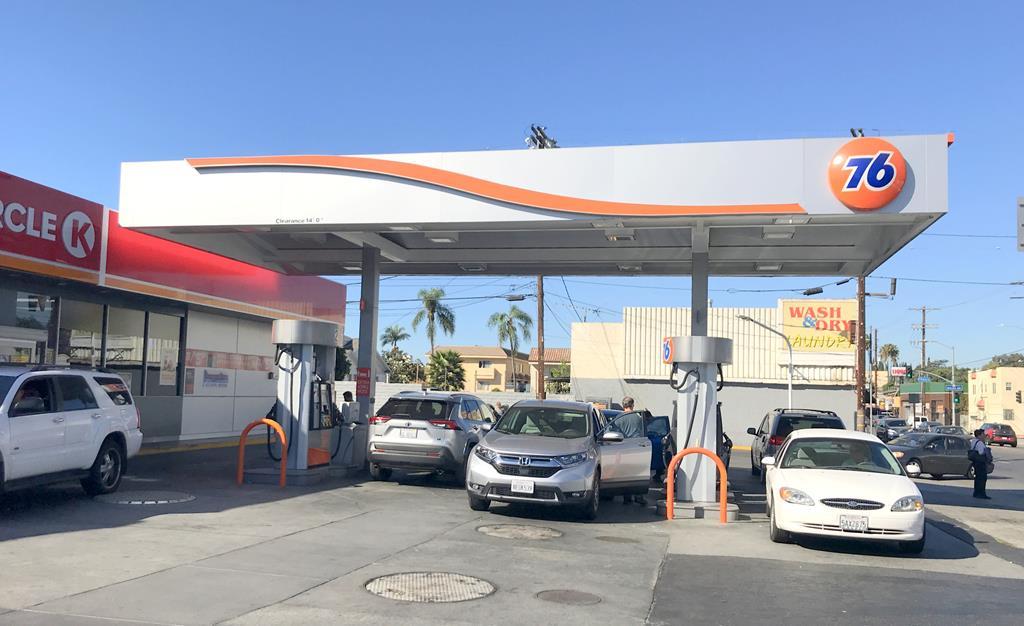 洛杉磯 自助 加油