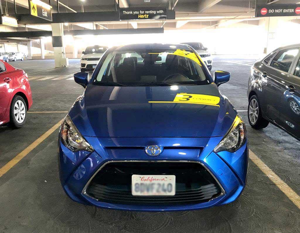 美國租車辦理取車手續