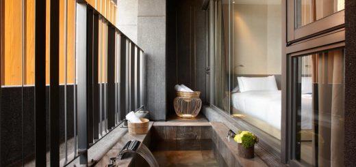 Jiaoxi hot spring