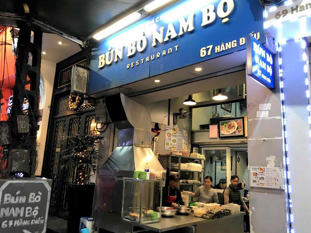 牛肉乾拌米線-Bún-Bò-Nam-Bộ-Bách-Phương