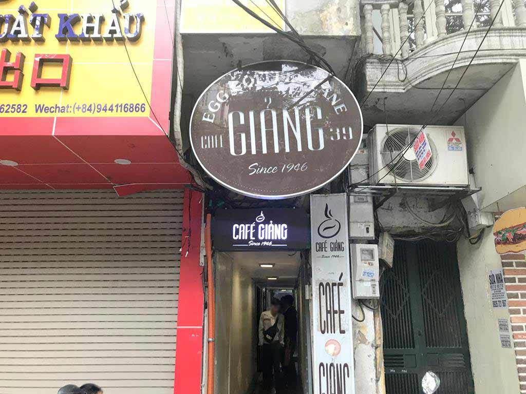 越南蛋咖啡創始店Giang-Café
