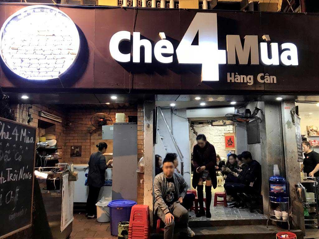 越式甜點店Chè Bốn Mùa
