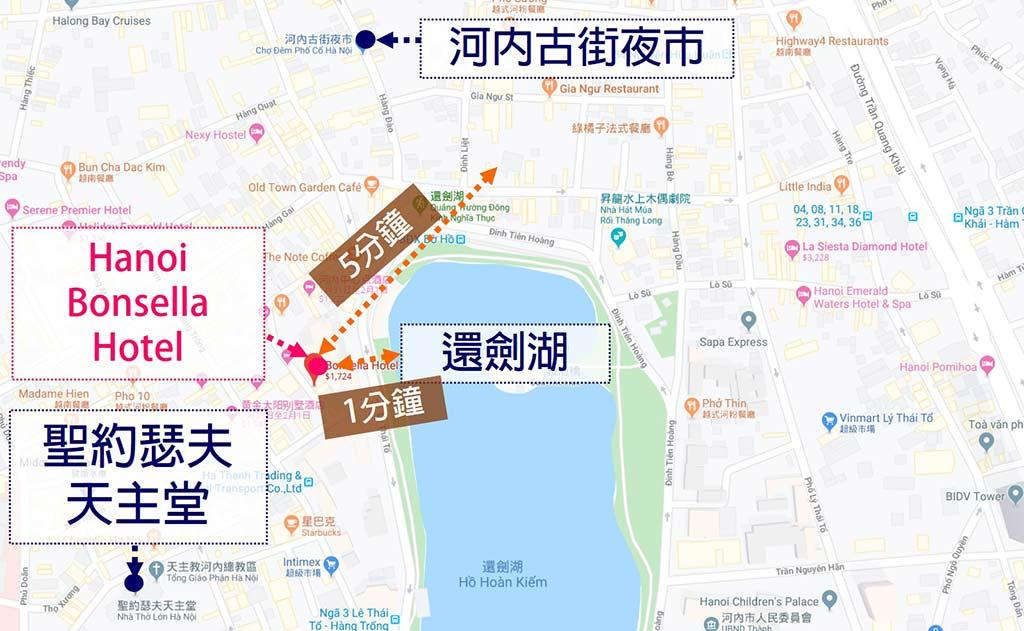 Hanoi-Bonsella-Hotel-hotel-map