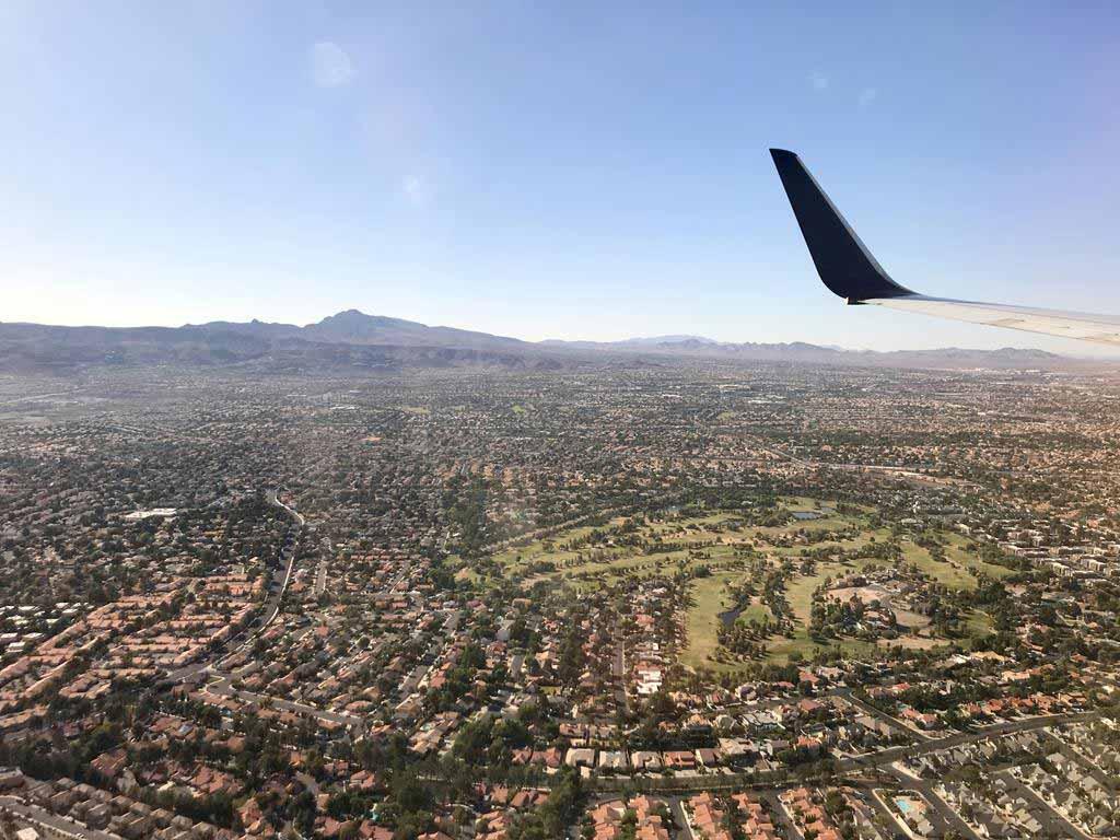 Las-Vegas-flight