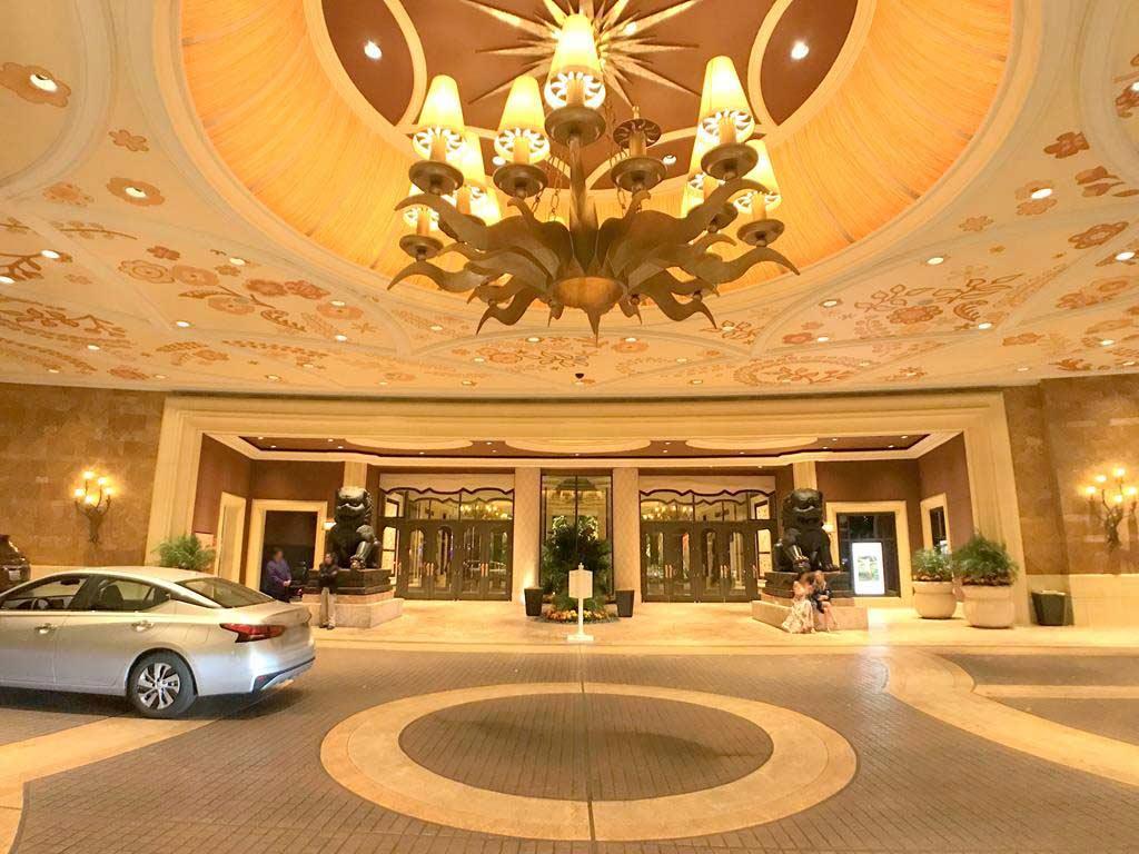 Lobby of Wynn Las Vegas