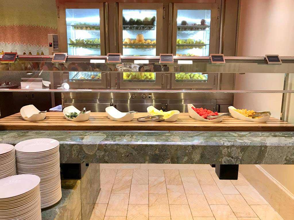 The buffet at Wynn Las Vegas