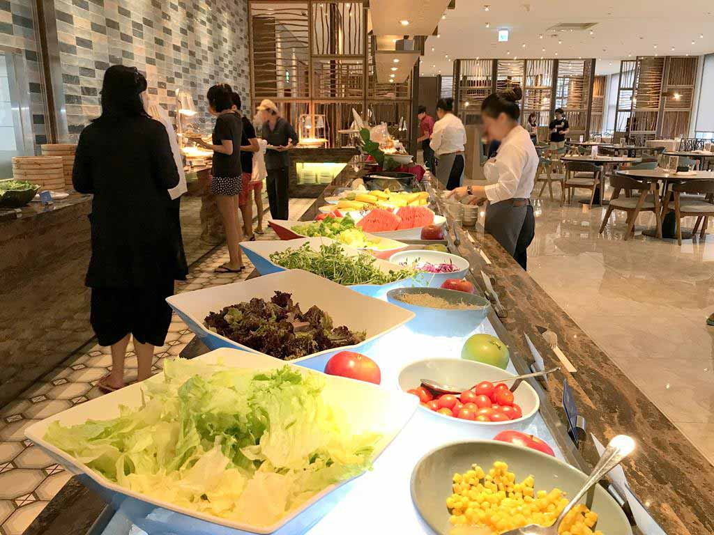 Breakfast of Discovery hotel Penghu