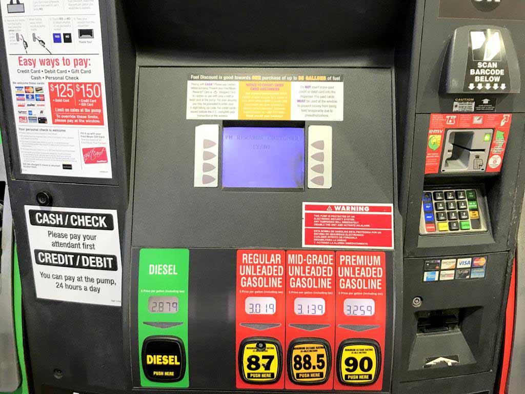 fuel station in alaska