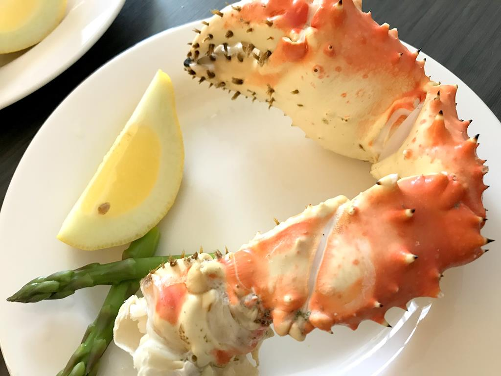 Seafoods in Alaska supermarket