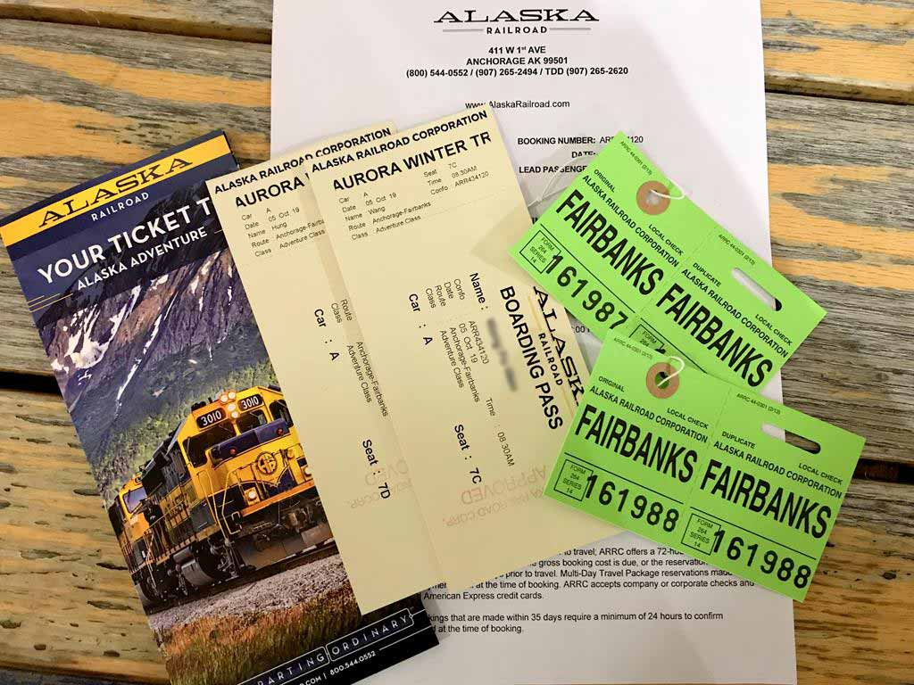 Ticket-of-Alaska-Railroad-Aurora-Winter-Train