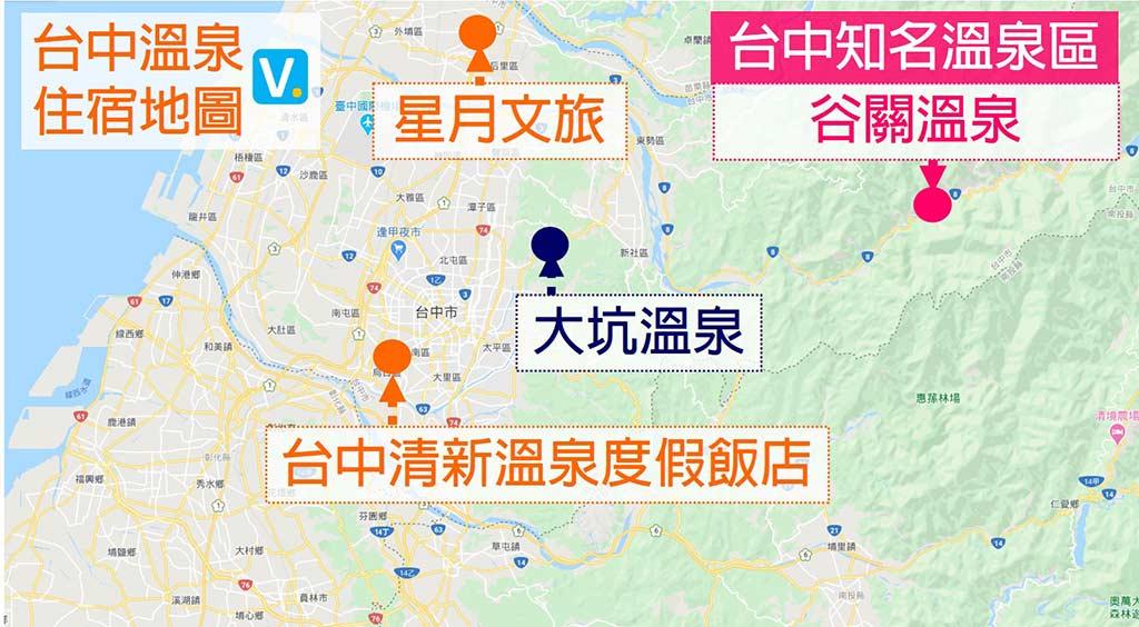 台中-溫泉-地圖