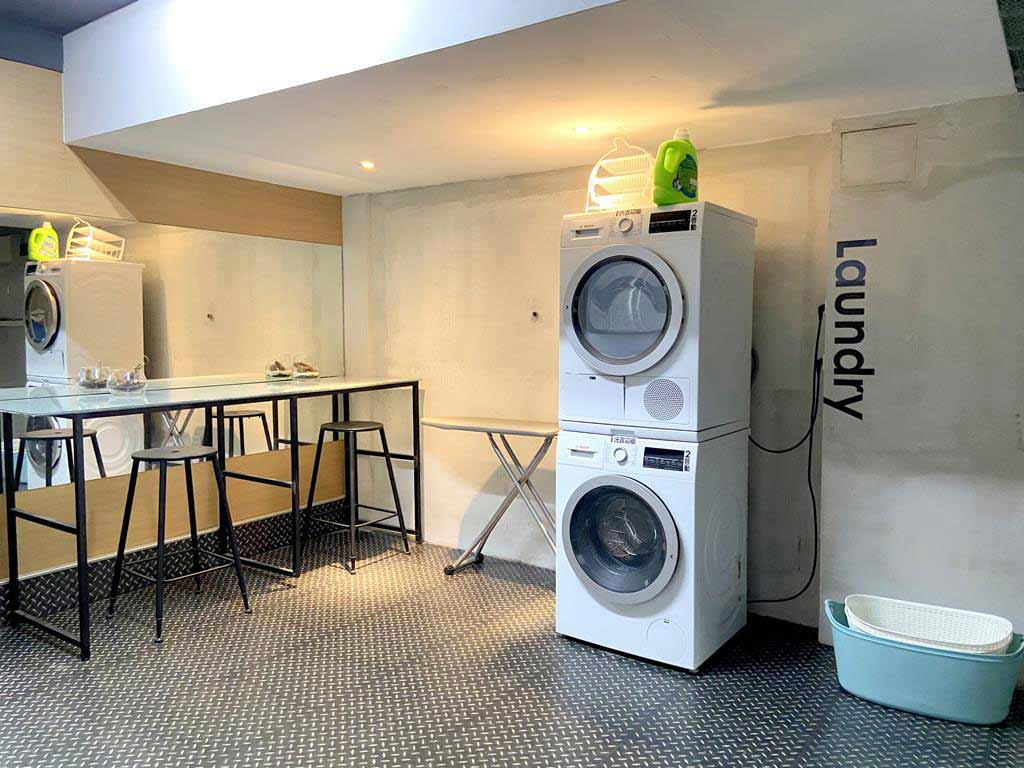 Laundry of PAPO'A HOTEL