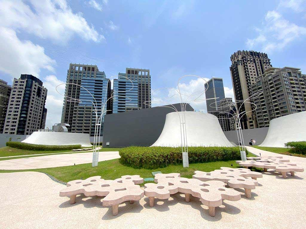 台中國家歌劇院 空中花園