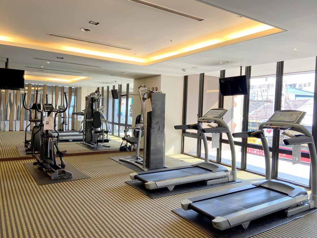 Gym of la vida hotel
