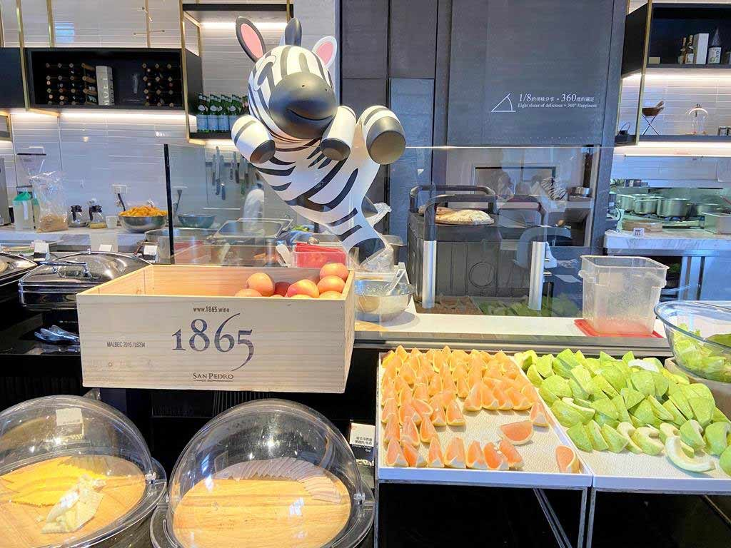 breakfast of The Place Taichung