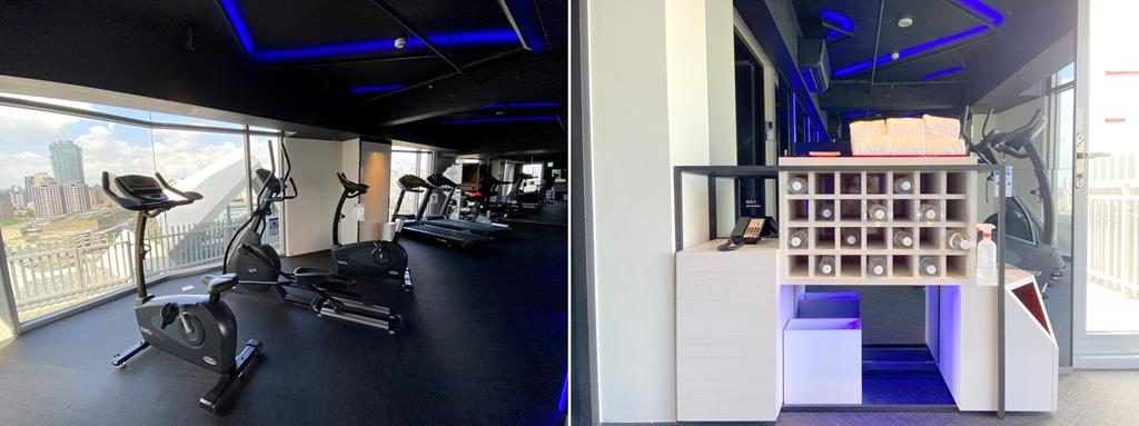 gym of The Place Taichung