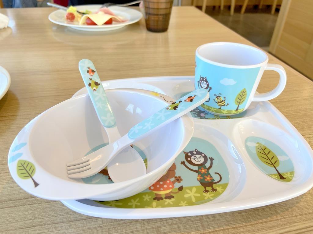 Breakfast of HOTEL CHAM CHAM Taitung-dynasty 兒童餐具
