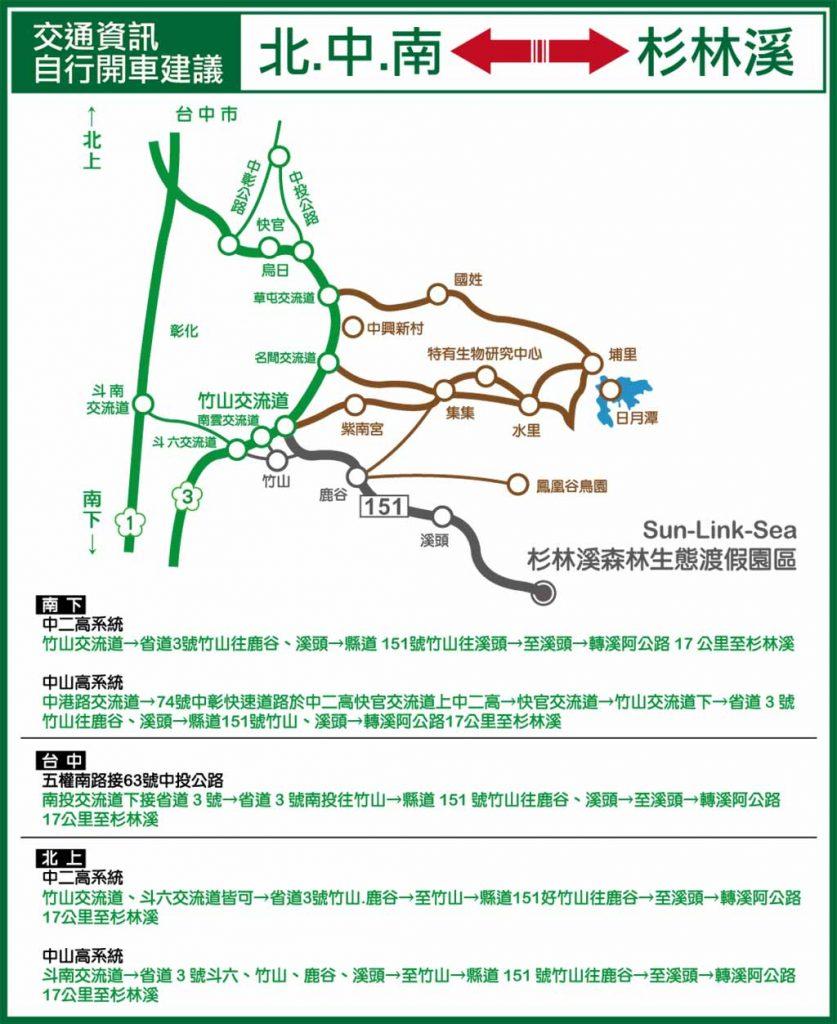 杉林溪-交通