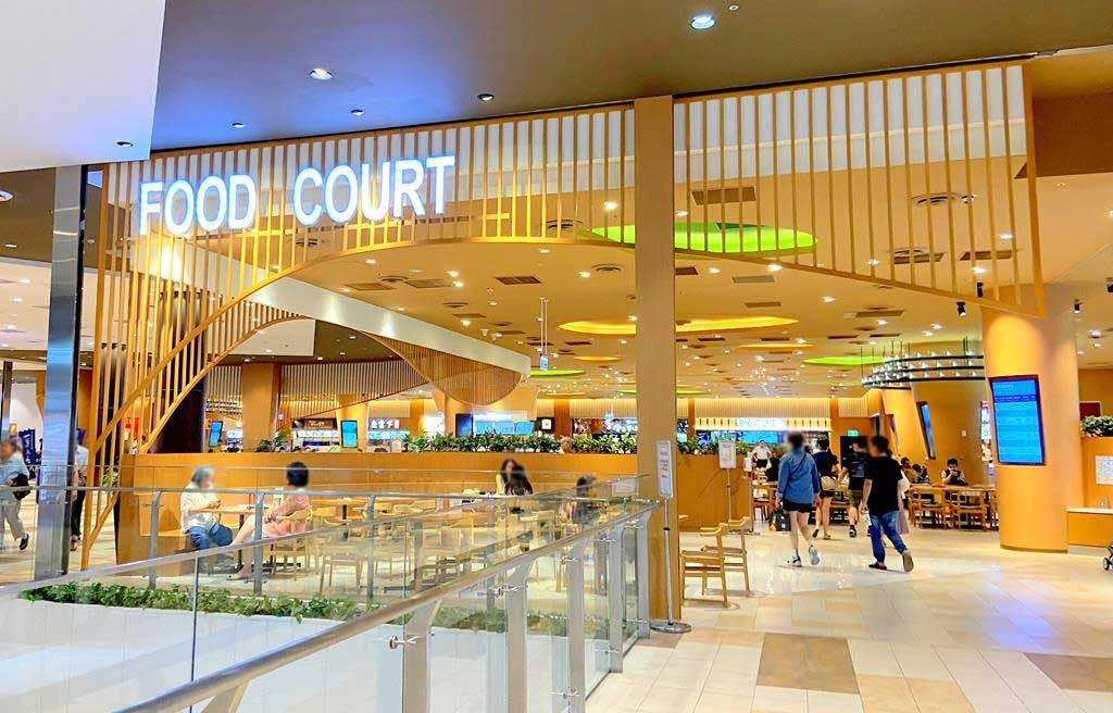 Food-court-of-mitsui-outlet-park