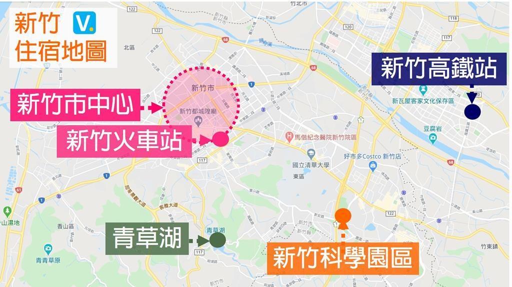 Hsinchu hotel area