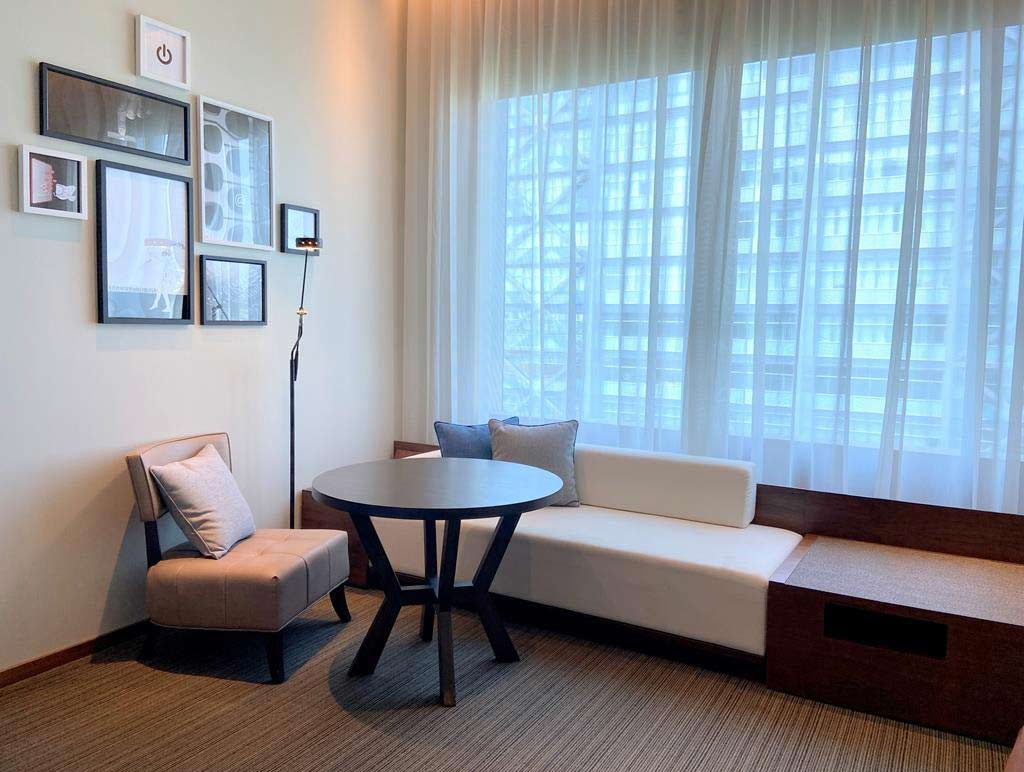 Room of hotel indigo hsinchu