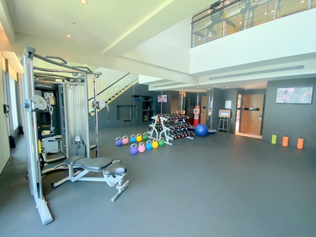 gym of hotel indigo hsinchu