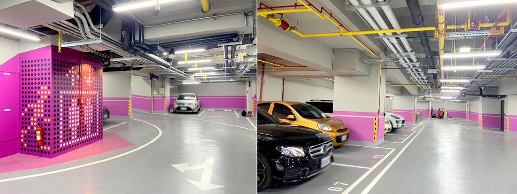 parking-of-moxy-taichung
