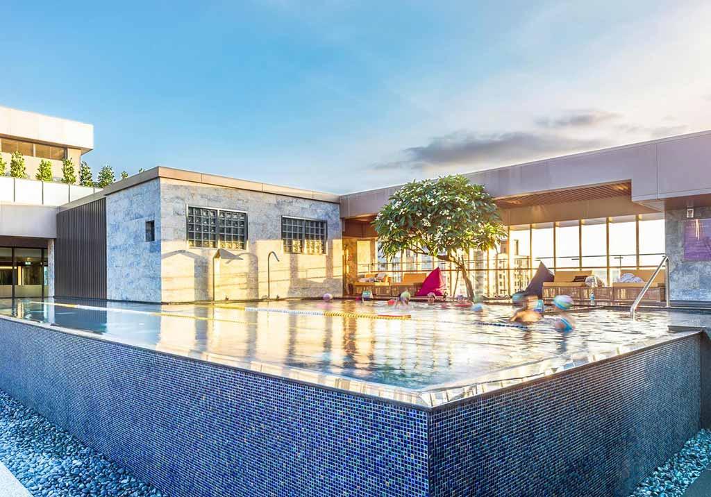 台中-泳池-飯店