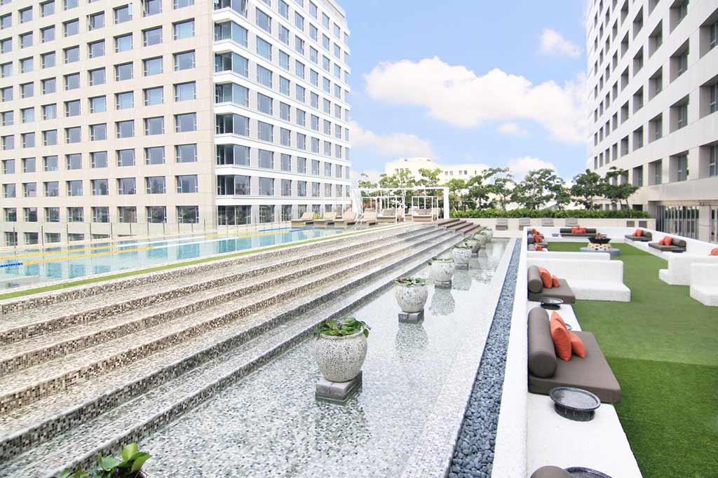 台南-泳池-飯店