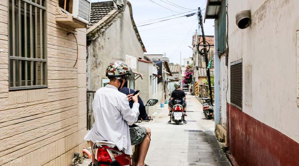 Kinmen-scooter-rental